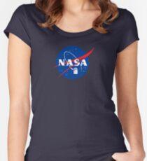 NASA TAR DIS Fitted Scoop T-Shirt