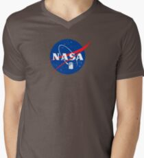 NASA TAR DIS V-Neck T-Shirt