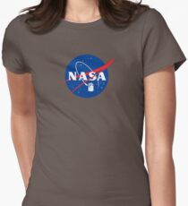 NASA TAR DIS Tailliertes T-Shirt