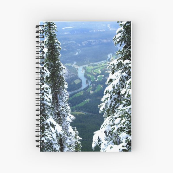 Banff Spiral Notebook
