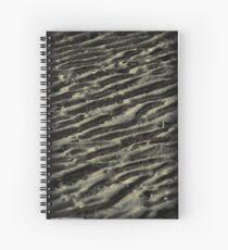 Sand Lines Spiral Notebook