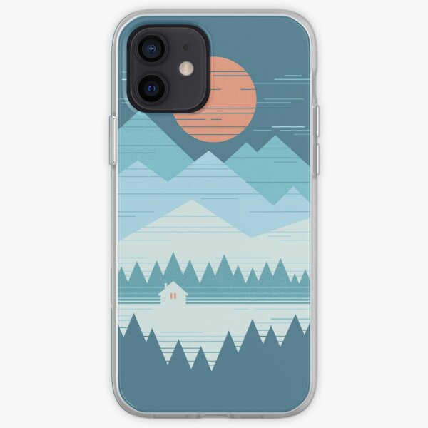 Cabin In The Snow iPhone Soft Case