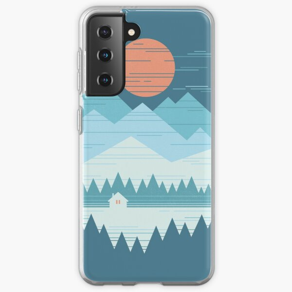 Cabin In The Snow Samsung Galaxy Soft Case