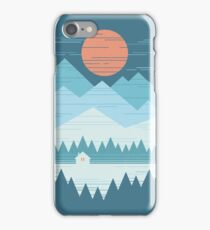 Cabin In The Snow iPhone 7 Case