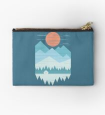 Cabin In The Snow Studio Pouch