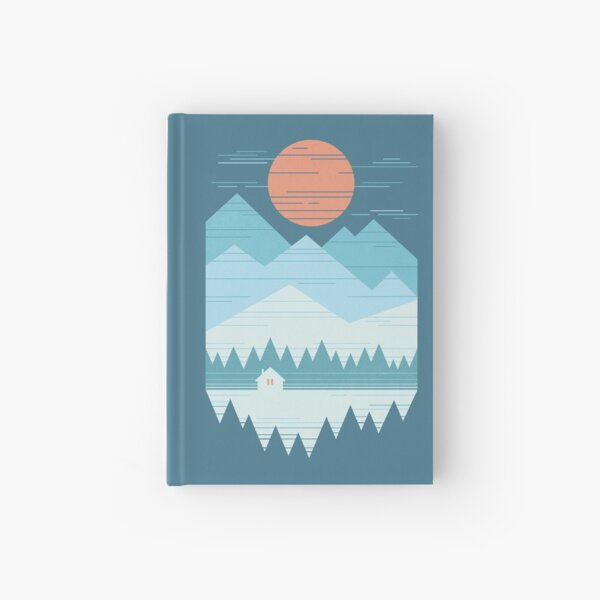 Cabin In The Snow Hardcover Journal