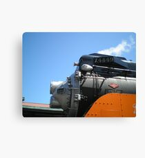 Train Engine Canvas Print