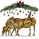 Saiga Antelope by MariaSibireva