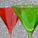 Christmas: Candy Cane and Mint Martinis by Jen Waltmon