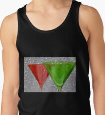Christmas: Candy Cane and Mint Martinis Tank Top