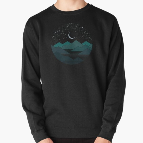 Between The Mountains And The Stars Pullover Sweatshirt