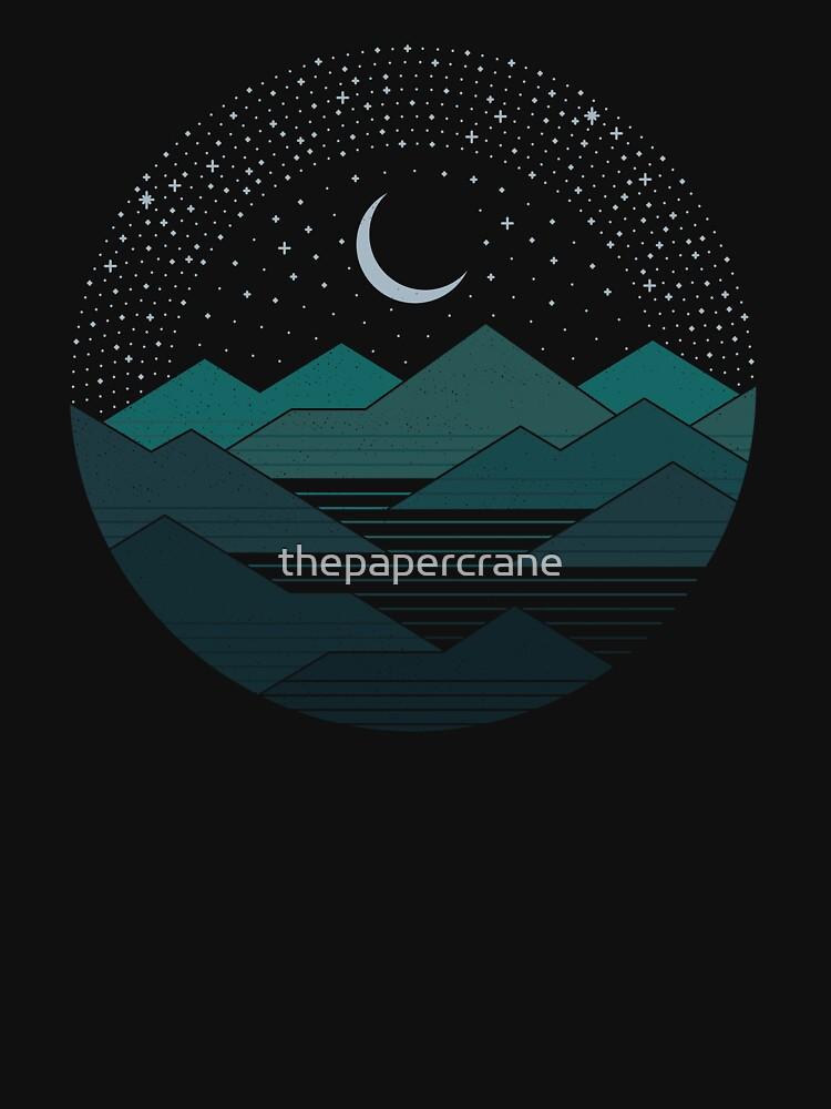 Zwischen den Bergen und den Sternen von thepapercrane