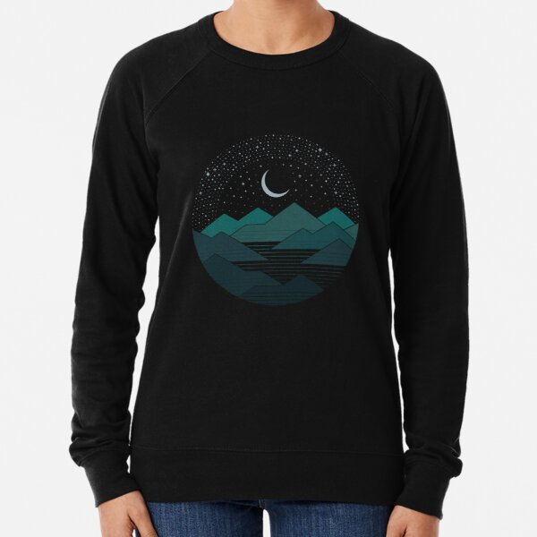 Between The Mountains And The Stars Lightweight Sweatshirt