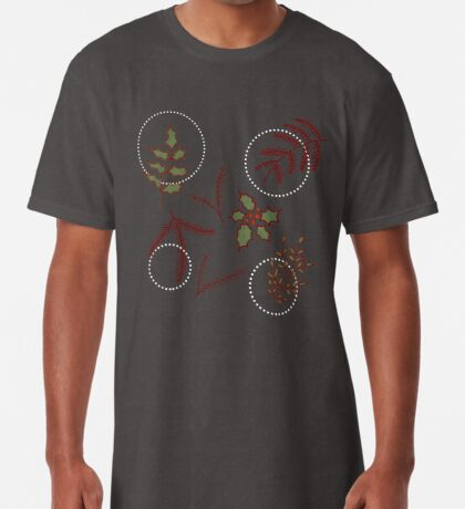 Classic Cozy #redbubble #xmas Long T-Shirt
