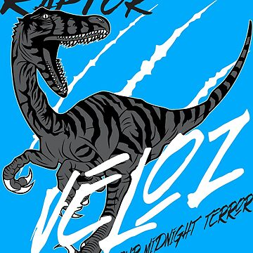 Raptor Veloz - Your Midnight Terror by flipper42