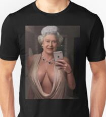 The Royal Cleavage Unisex T-Shirt