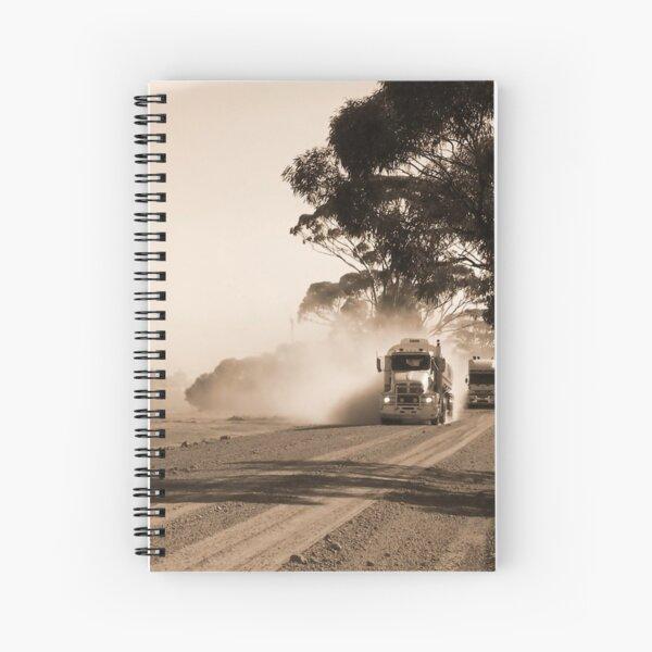 Bulldust Drive Spiral Notebook