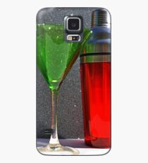 Christmas:  Holiday Martinis Shaken but Not Stirred Case/Skin for Samsung Galaxy