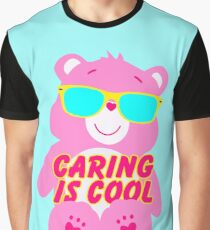 It's Cool To Care (Bear) Graphic T-Shirt