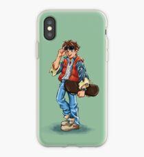 Marty McFly Cartoon iPhone Case