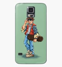 Marty McFly Cartoon Case/Skin for Samsung Galaxy