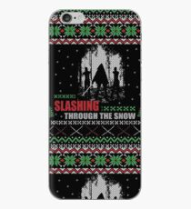 The Walking Dead - Michonne Ugly Christmas Sweater iPhone Case