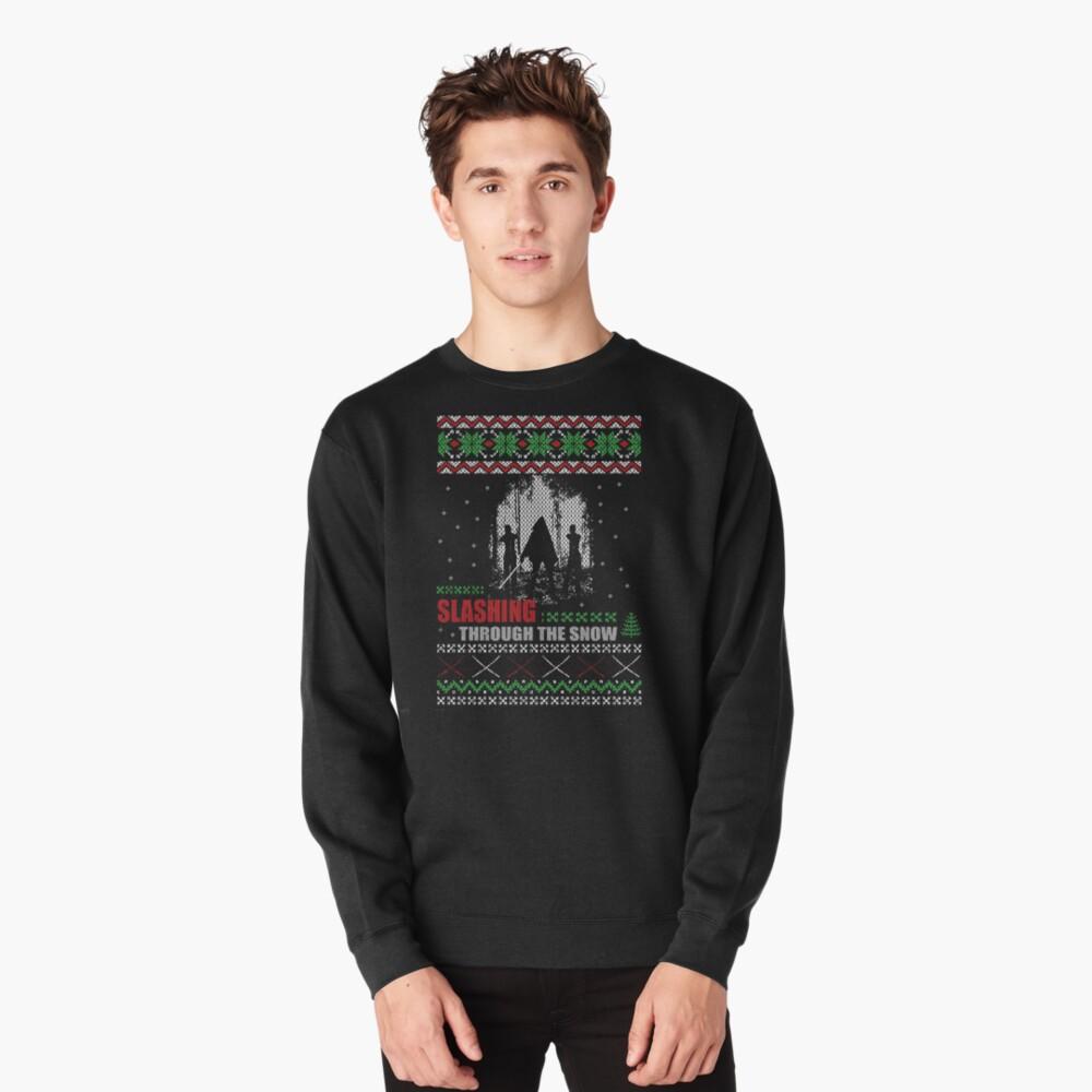 The Walking Dead - Michonne Ugly Christmas Sweater Pullover Sweatshirt