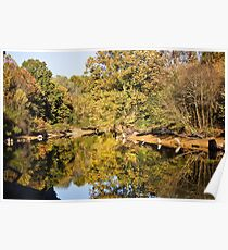 Fall on the Eno River Poster