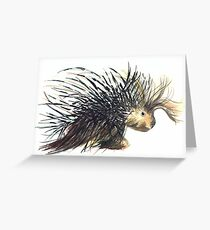 Coldprickly, a children's book story and illustration Greeting Card