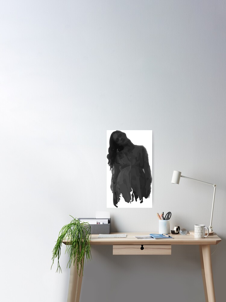 Bent Neck Lady The Haunting Of Hill House Poster By Anchor96 Redbubble