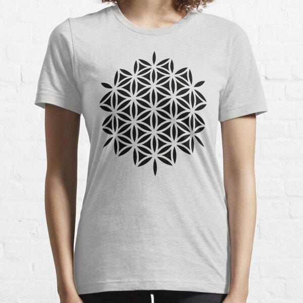 Flower of life, sacred geometry, Metatrons cube Essential T-Shirt