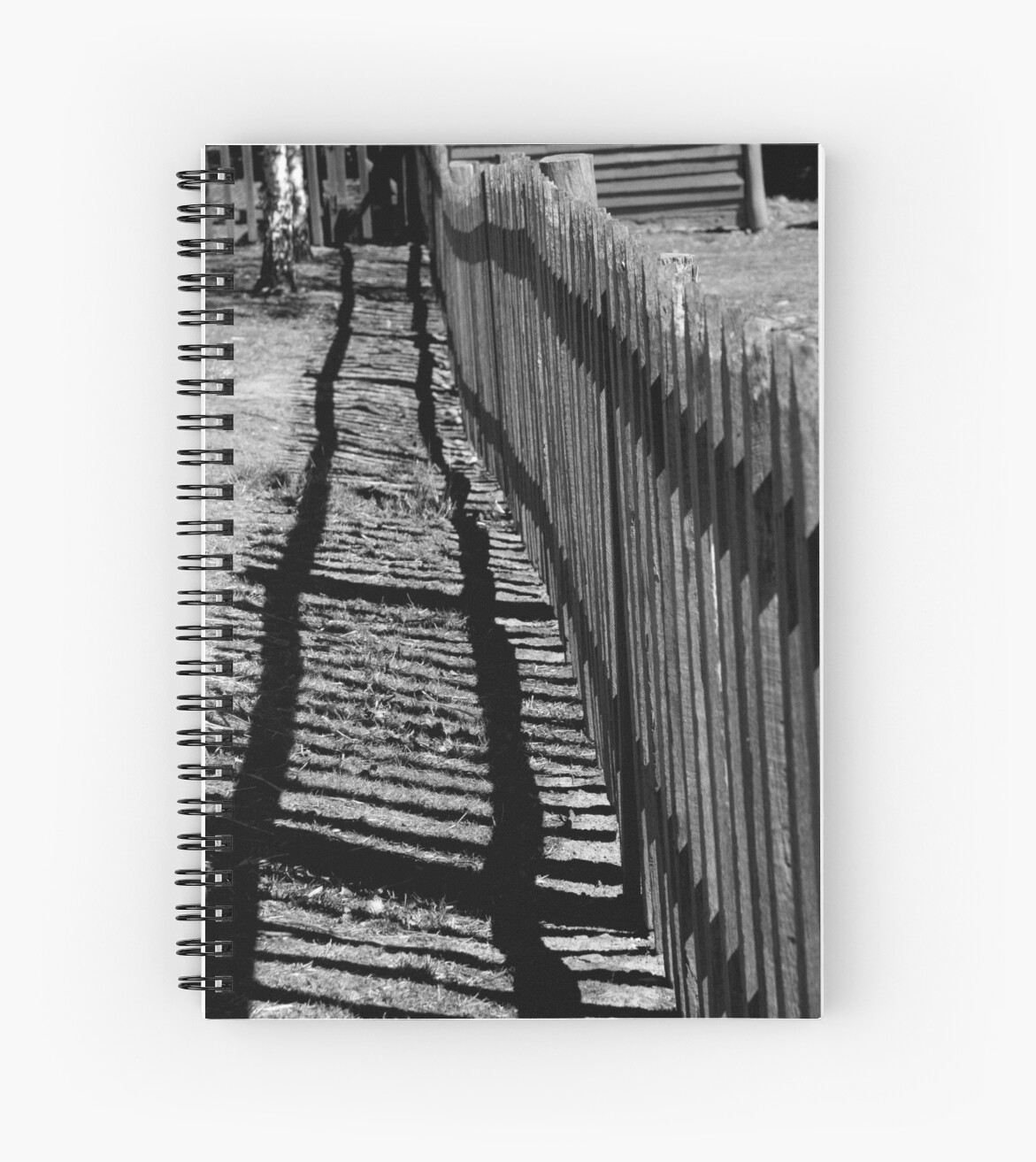 """Old fence ("""" lines - 1 """") by Carole Felmy"""