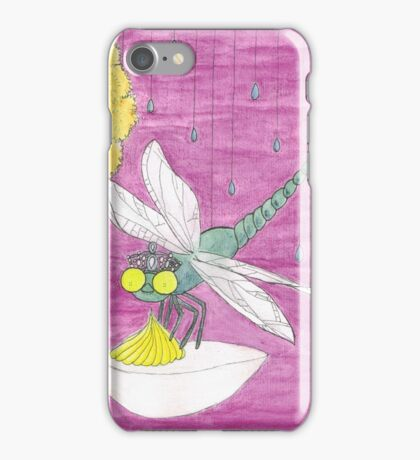 D is for Dragonfly iPhone Case/Skin