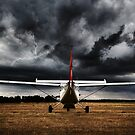 No day for flying!!! by Heather Prince