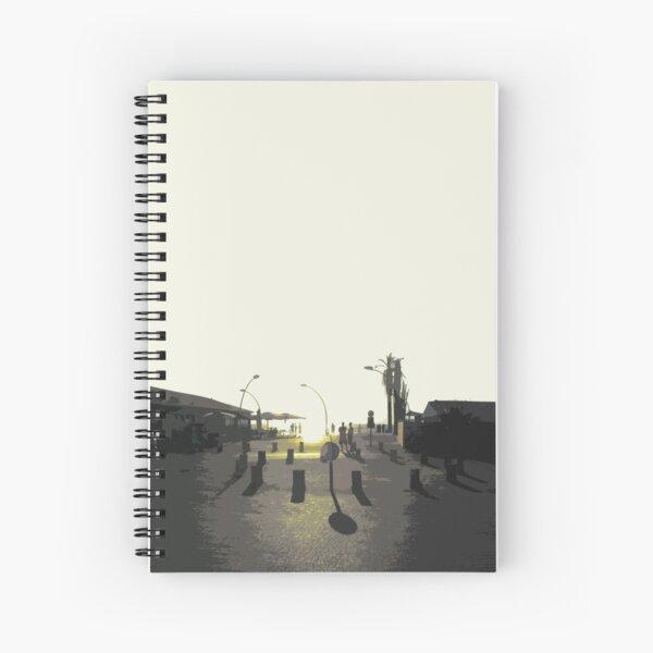 tel aviv sunset Spiral Notebook