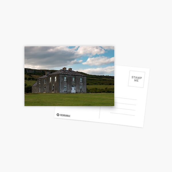 Father ted's House Postcard