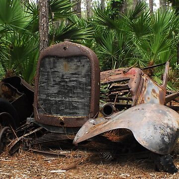 Rusty Car by jagrolet