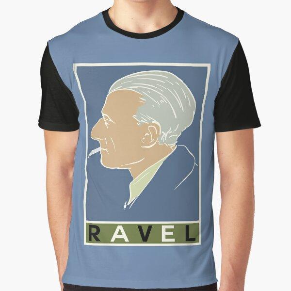 Maurice Ravel Graphic T-Shirt