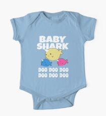 Baby Shark Doo One Piece - Short Sleeve