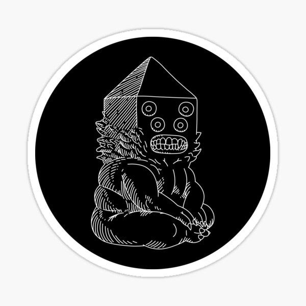 GOLB - white Sticker