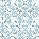 Openwork Snowflakes. White Lace by alijun