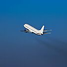 Boeing 737-400 On TakeOff by RatManDude