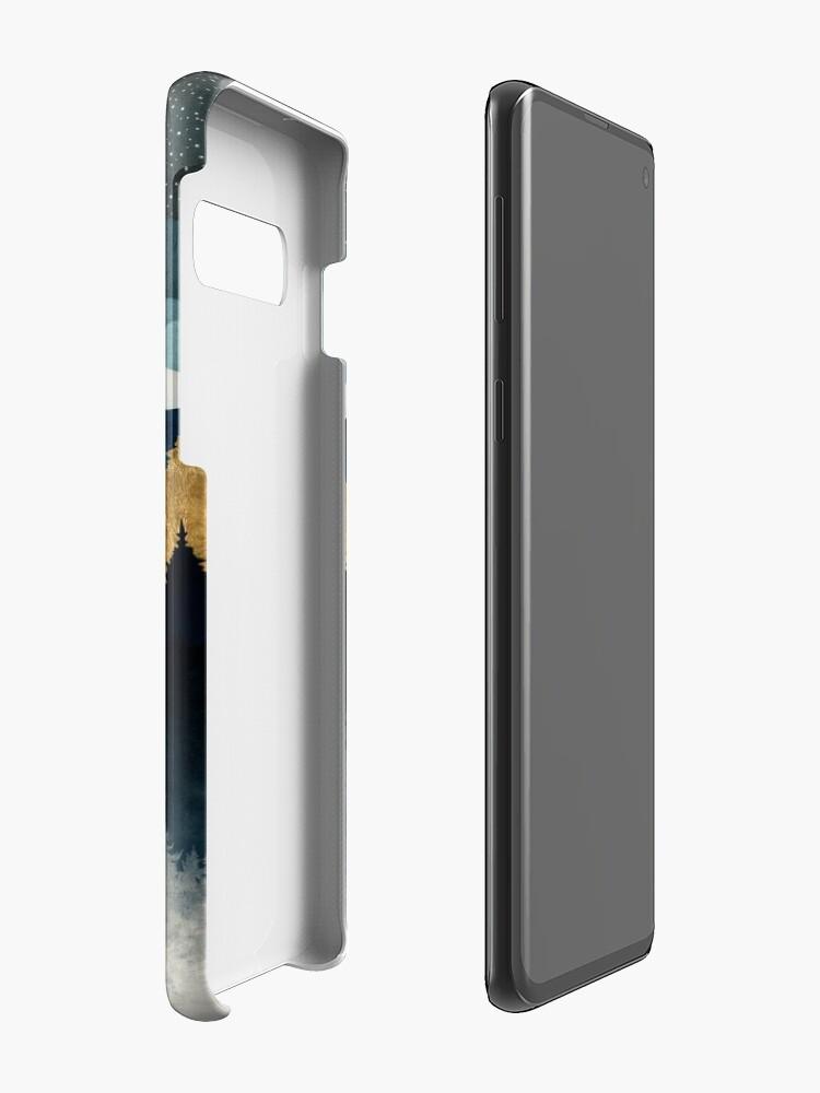 Alternate view of Indigo Night Case & Skin for Samsung Galaxy