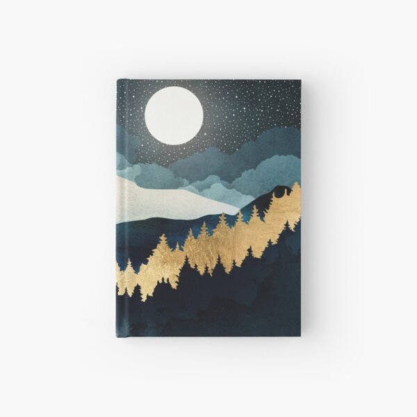 Indigo Night Hardcover Journal