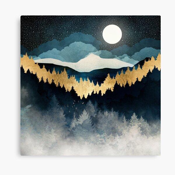 Indigo Night Canvas Print