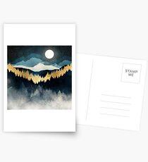 Postales Noche de indigo