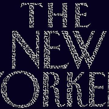 Typography The New Yorker Magazine  by Karotene