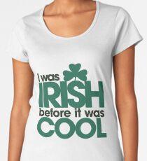 Irish Hipster Women's Premium T-Shirt