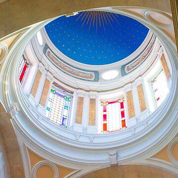 abóboda estrelada. Igreja da Anunciada.  by terezadelpilar