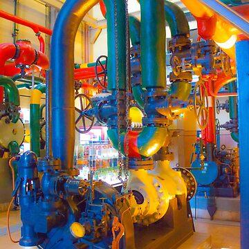 fábrica de electricidade. electricity factory. museum. maat by terezadelpilar